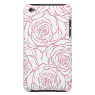 beautiful, floral.pink,white,peonies,girly,feminin Case-Mate iPod touch case