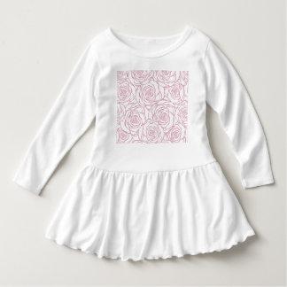 beautiful, floral.pink,white,peonies,girly,feminin dress