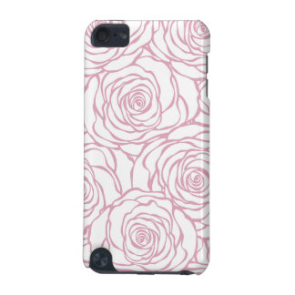 beautiful, floral.pink,white,peonies,girly,feminin iPod touch (5th generation) covers