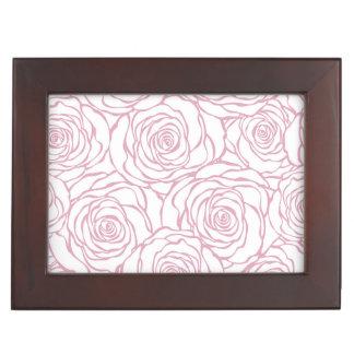 beautiful, floral.pink,white,peonies,girly,feminin keepsake box