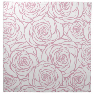beautiful, floral.pink,white,peonies,girly,feminin napkin