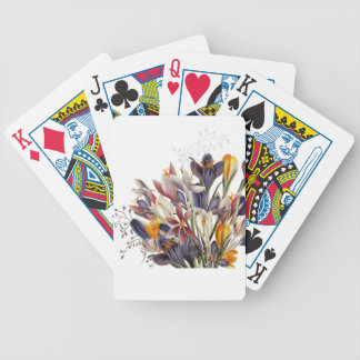 Beautiful Floral Playing Cards