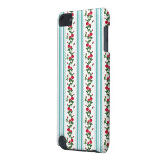 Beautiful Floral Rose - Elegant White Lace Ribbon iPod Touch (5th Generation) Cover