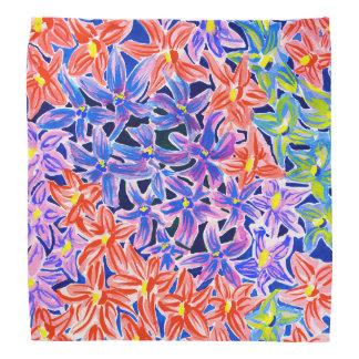 Beautiful Floral Watercolour Bandana