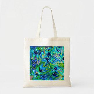 Beautiful Floral Watercolour Budget Tote Bag