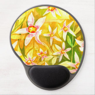 Beautiful Floral Watercolour Gel Mouse Pad