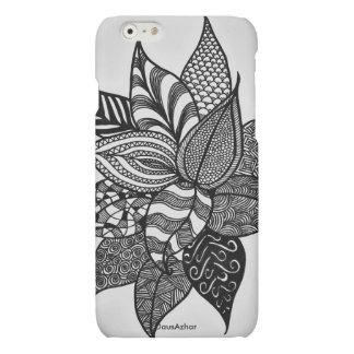 Beautiful Floral Zen Doodle phone case