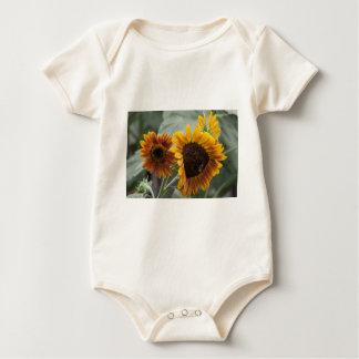 Beautiful Florida Sunflowers Baby Bodysuit