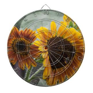 Beautiful Florida Sunflowers Dartboard