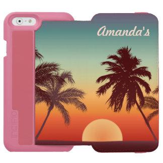 Beautiful Florida Sunset Incipio Watson™ iPhone 6 Wallet Case