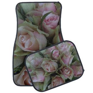 Beautiful Flower Bouquet of Pink Roses, car mats Auto Mat