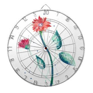 Beautiful Flower Dartboard