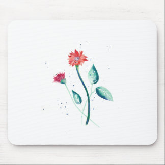 Beautiful Flower Mouse Pad