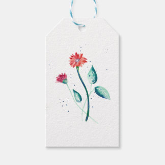 Beautiful Flower Pack Of Gift Tags