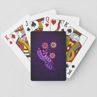 Beautiful Flower Playing Cards