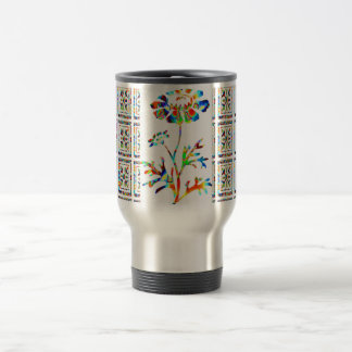 Beautiful FLOWER SHOW 15 Oz Stainless Steel Travel Mug