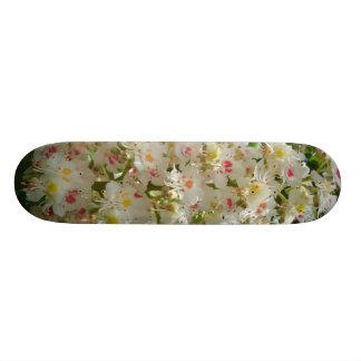 Beautiful Flower Skateboard