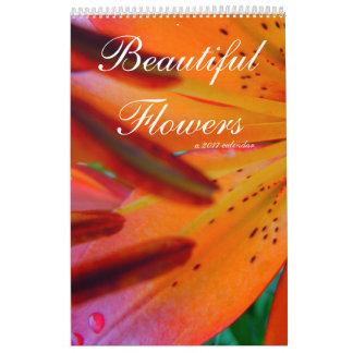 Beautiful Flowers A 2017 Calendar