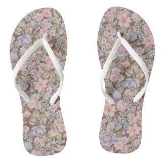 beautiful flowers floral textures flip flops