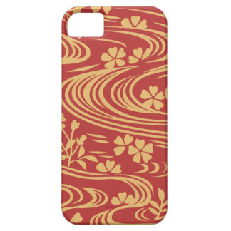 Beautiful flowers flowing river floats iPhone 5 covers