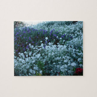 beautiful flowers garden jigsaw puzzle
