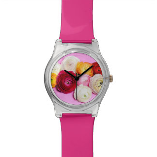 Beautiful flowers watches