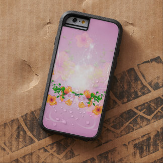 Beautiful flowers with soft purple background tough xtreme iPhone 6 case