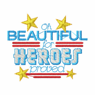 Beautiful For Heroes Proved Hoody