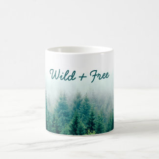 Beautiful Forest Wild and Free Coffee Mug