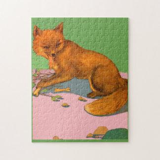beautiful fox jigsaw puzzle