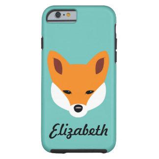 Beautiful Fox Tough iPhone 6 Case