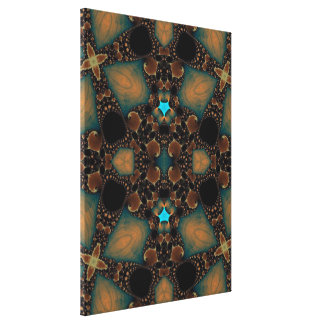 Beautiful Fractal Abstract Wrapped Canvases Canvas Prints