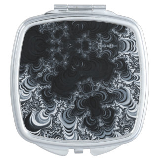 Beautiful Fractal Art Compact Mirrors