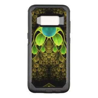 Beautiful Fractal Feathers of the Quetzal Bird OtterBox Commuter Samsung Galaxy S8 Case