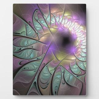 Beautiful fractal plaque