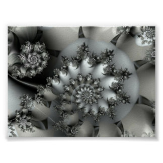 Beautiful fractal poster