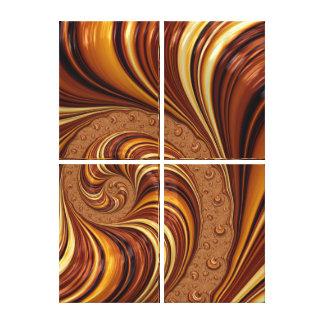 Beautiful Fractal Swirls Art Decor Canvas Prints