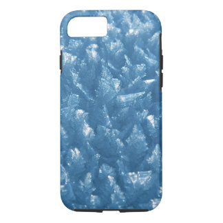 beautiful fresh blue ice crystals photograph Case-Mate iPhone case