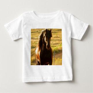 BEAUTIFUL FRIESIAN HORSE STALLION BABY T-Shirt