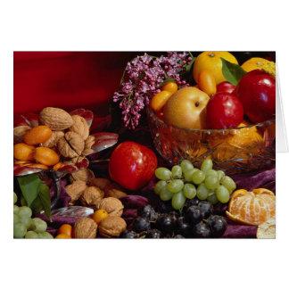Beautiful Fruit arrangement Card
