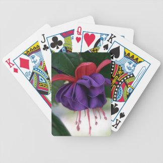 Beautiful Fuchsia Bicycle Playing Cards