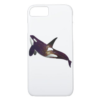 Beautiful galaxy stars space orca whale hipster iPhone 7 case