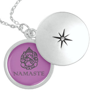 Beautiful Ganesh Namaste Necklace