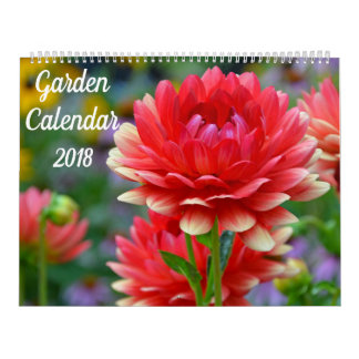 Beautiful garden calendar