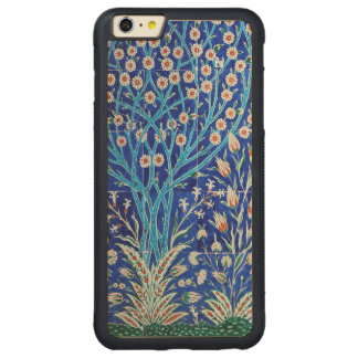 Beautiful garden carved maple iPhone 6 plus bumper case