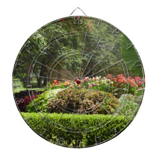 beautiful garden dartboard