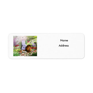 Beautiful Garden Return Address Label