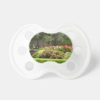 beautiful garden pacifier