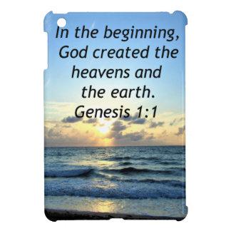 BEAUTIFUL GENESIS 1:1 SUNRISE PHOTO DESIGN iPad MINI CASE