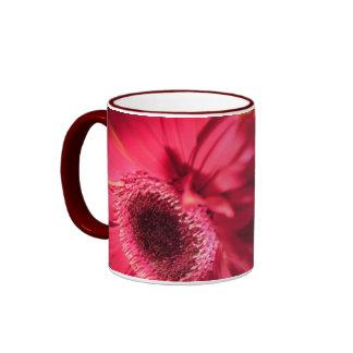 Beautiful Gerberas closeup Ringer Mug